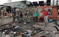 Dalam Sekejab Sekitar 18 Unit Rumah Ludes Di Lalap si Jago Merah