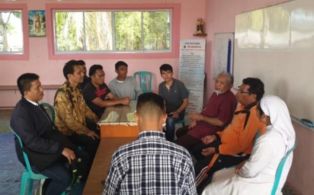 GMKI Ultimatum Kabareskrim Untuk Menyelesaikan Kasus Intoleransi di Karimun