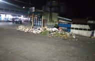 Tumpukan Sampah Berserak di Sekitar Pasar Dwikora Siantar