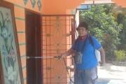 GPI Bandar Huluan Lakukan Penyemprotan Disinfektan Di Dusun VIII