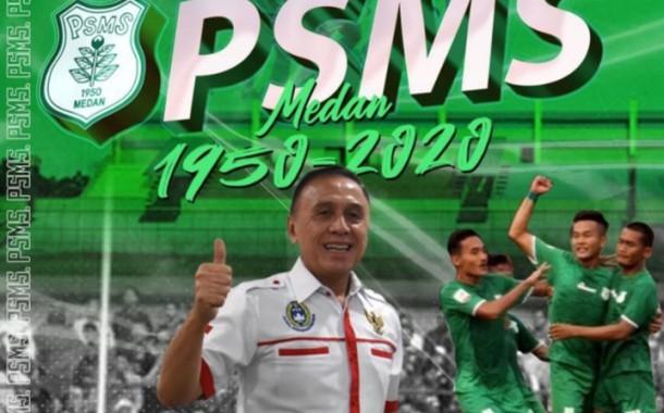 Ketua Umum PSSI Ucapkan Hari Jadi Untuk PSMS Medan Dan BARITO PUTRA