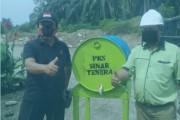 PKS Sinar Tenera Beri Bantuan Masker dan Handsanitiser Kepada Warga Bandar Huluan