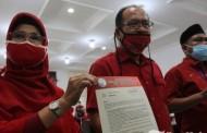 DPP PDIP Dukung Asner-Susanti Sebagai Cawako Pematangsiantar 2020
