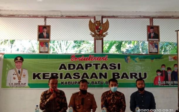 DPK JAMAN Batubara dan Pemkab Batubara Bersinergi Gelar Adaptasi Kebiasaan Baru