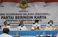 Partai Berkarya Gelar Rakorwil Provinsi Sumut Untuk Sukseskan Pilkada 2020 Dan Pemilu 2024