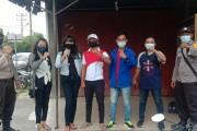 Peduli Covid-19, Pemuda Peduli Siantar dan Gerbang Milenial Simalungun Bagikan Masker