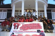 GMNI Siantar Gelar KTD Dengan Prokes di Pesanggarahan Bung Karno Parapat